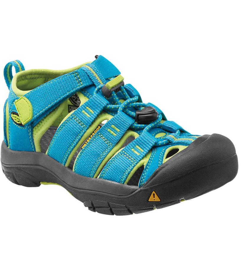 KEEN Newport H2 Jr Dětské sandály KEN1201049629 hawaiian blue/green glow 37