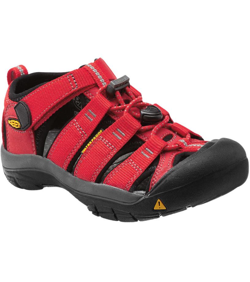KEEN Newport H2 Jr Dětské sandály KEN1201049634 ribbon red/gargoyle 7(39)