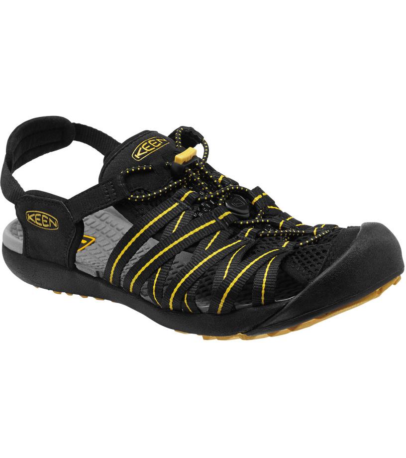 KEEN Kuta M Pánské sandály KEN1201082301 black/ceylon yellow 11(46)