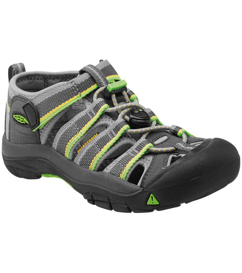 KEEN NEWPORT H2 JR Dětské sandály KEN1201101405 racer gray 13(32/33)