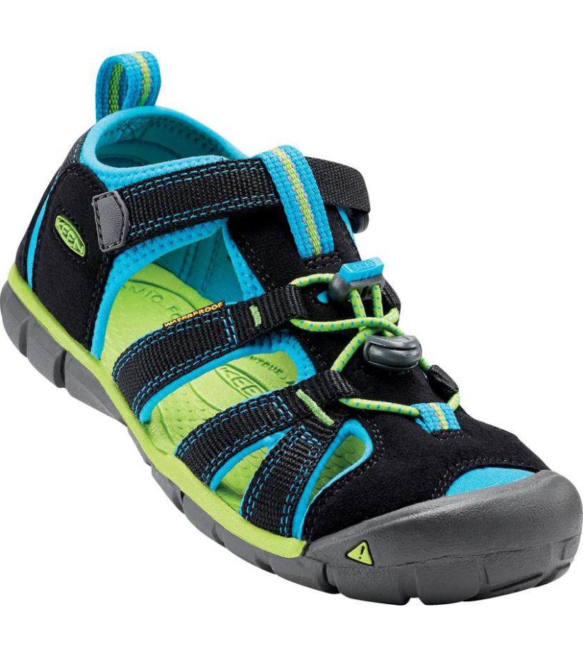 KEEN SEACAMP II CNX JR Dětské sandály KEN1201103308 black/blue danube 37