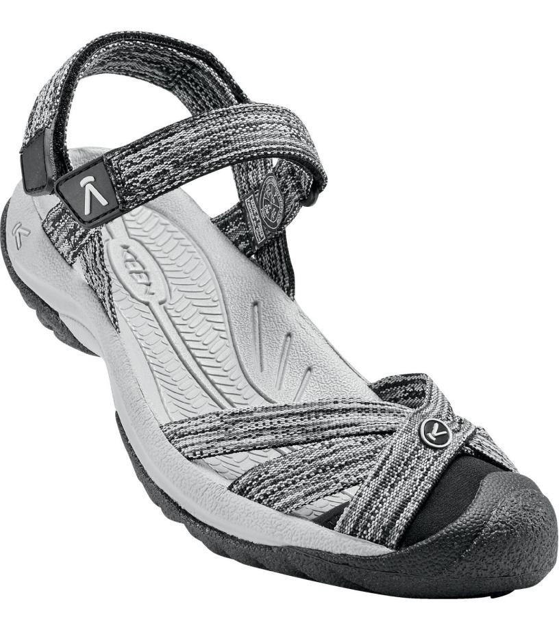 KEEN BALI STRAP W Dámské sandály KEN1201124102 neutral gray/black 7,5(40,5)