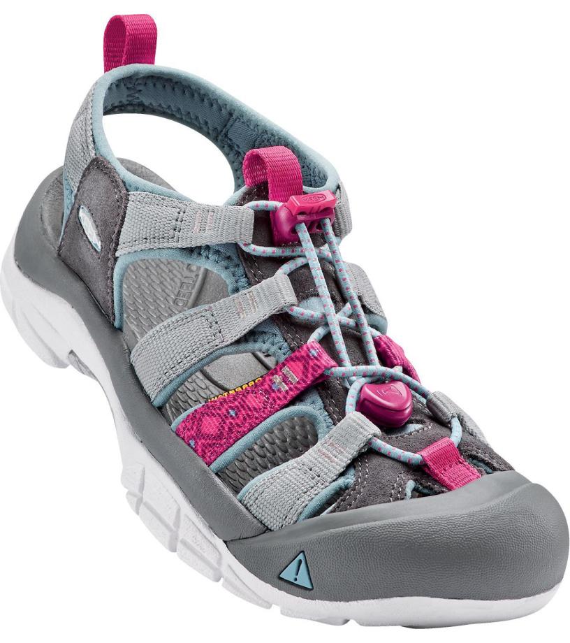 KEEN NEWPORT EVO H2 W Dámské sandály KEN1201127702 neutral gray/raspberry 7(40)
