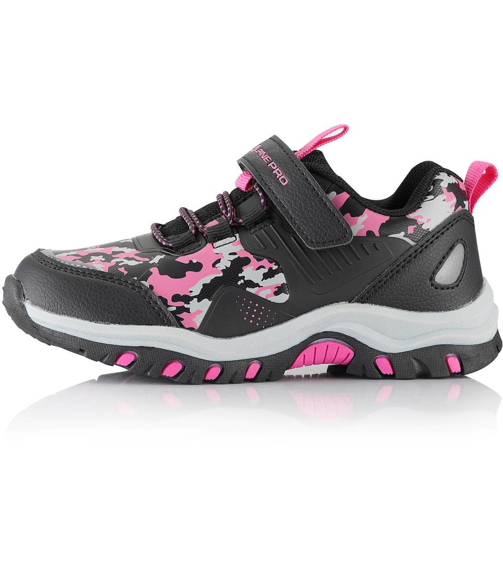 ALPINE PRO BLODO Dětská outdoorová obuv KBTS258452 růžová 27