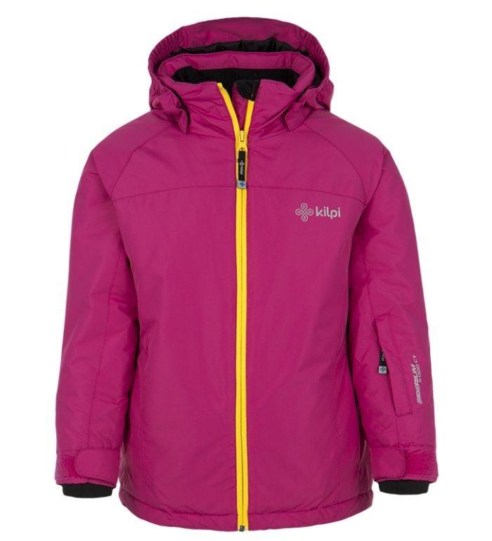KILPI Dívčí lyžařská bunda MILA-JG DJ0003KIPNK Růžová 152