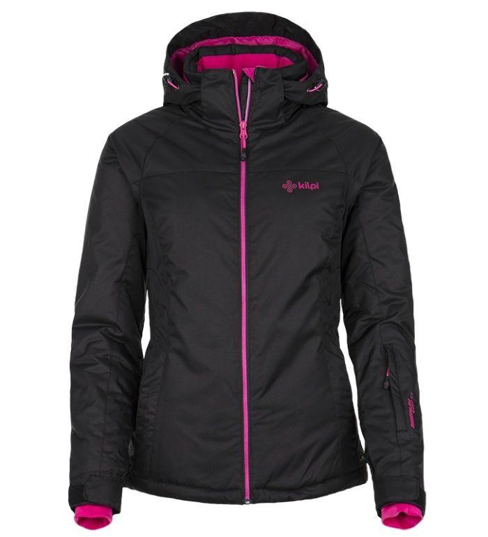 KILPI Dámská lyžařská bunda MILA DL0083KIBLK Černá 38