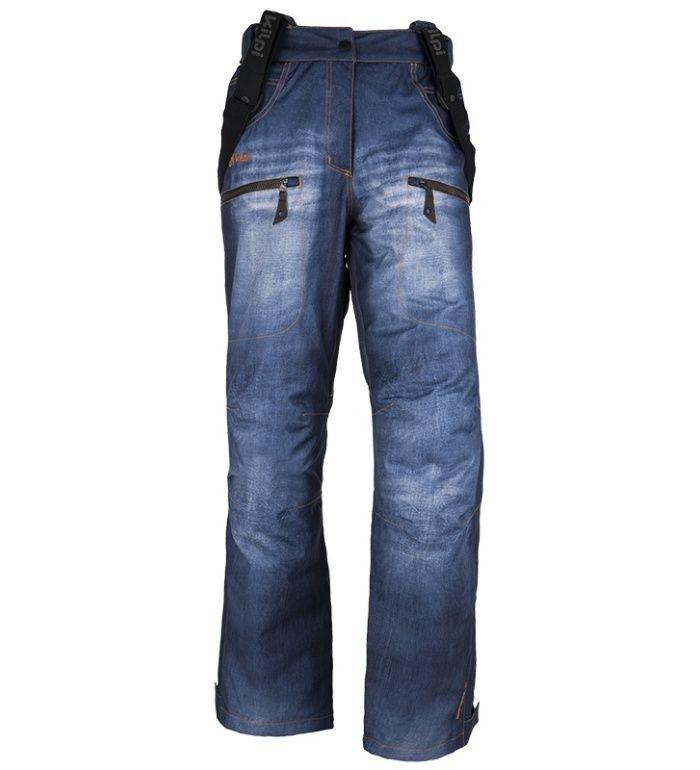 KILPI Snowboardové kalhoty JEANSTER-W DL0410KIBLU Modrá 36