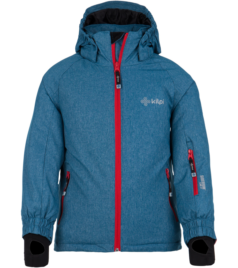 KILPI Chlapecká lyžařská bunda SEMERU-JB FJ0001KIBLU Modrá 110