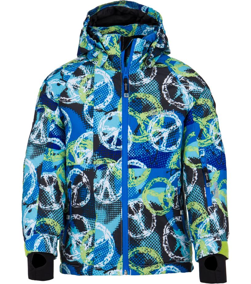 KILPI Chlapecká lyžařská bunda SEMERU-JB FJ0001KIWHT Bílá 110