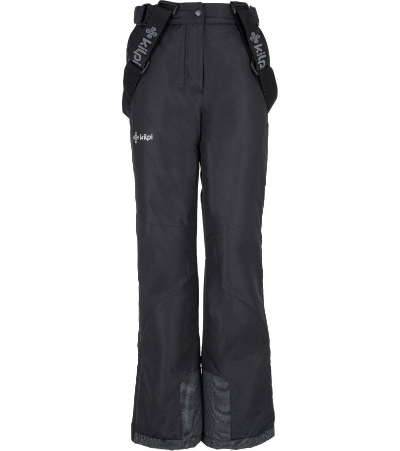 KILPI Dívčí lyžařské kalhoty EUROPA-JG FJ0023KIBLK Černá 146
