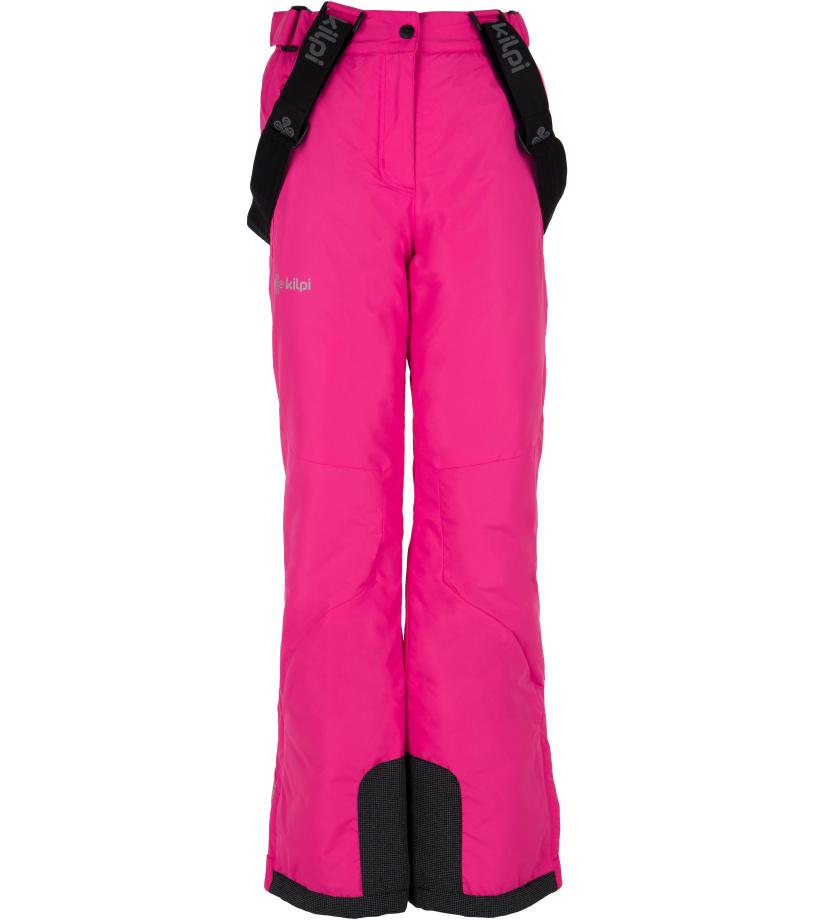 KILPI Dívčí lyžařské kalhoty EUROPA-JG FJ0023KIPNK Růžová 146