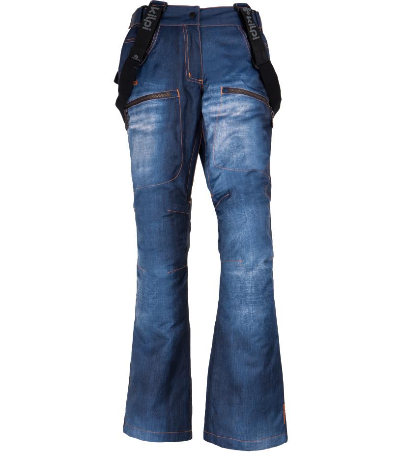 KILPI Dámské snowboardové kalhoty JEANSTER-W FL0023KIBLU Modrá 34