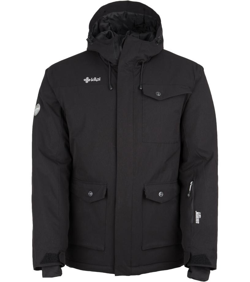 KILPI Pánská zimní bunda BAKER-M FM0022KIBLK Černá XL