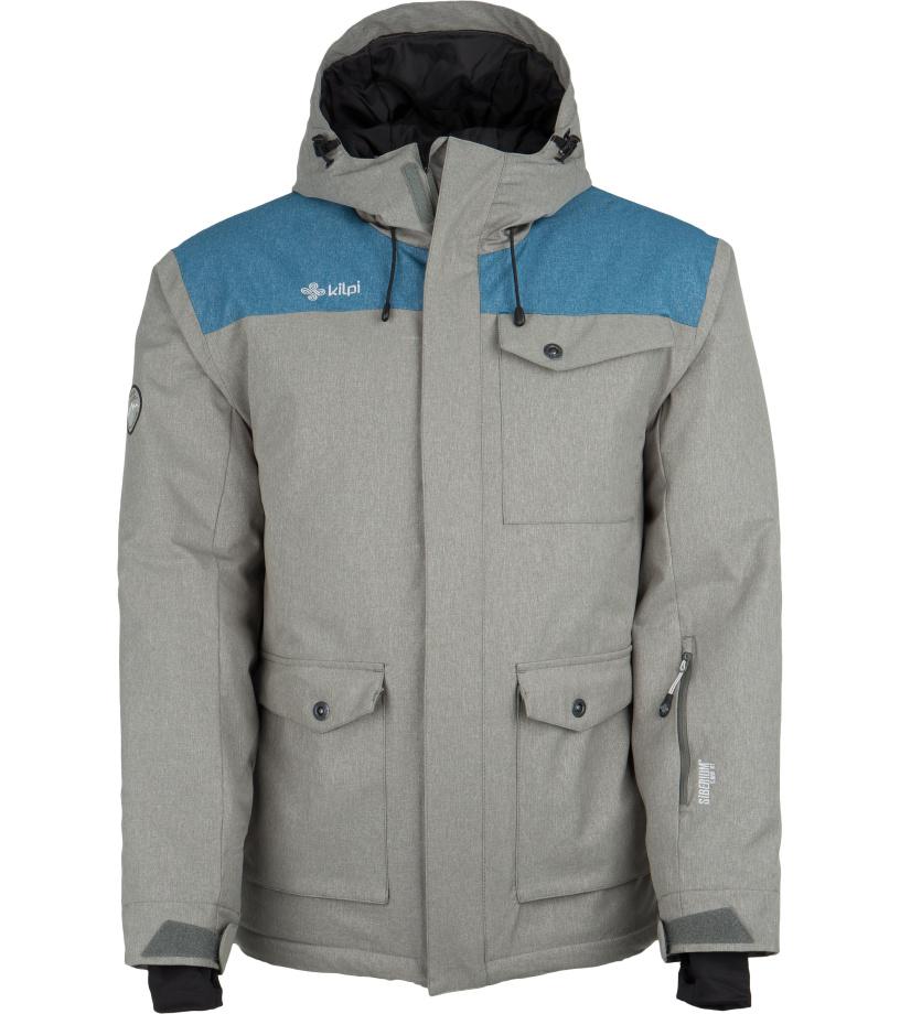 KILPI Pánská zimní bunda BAKER-M FM0022KIMEL Melange 5XL