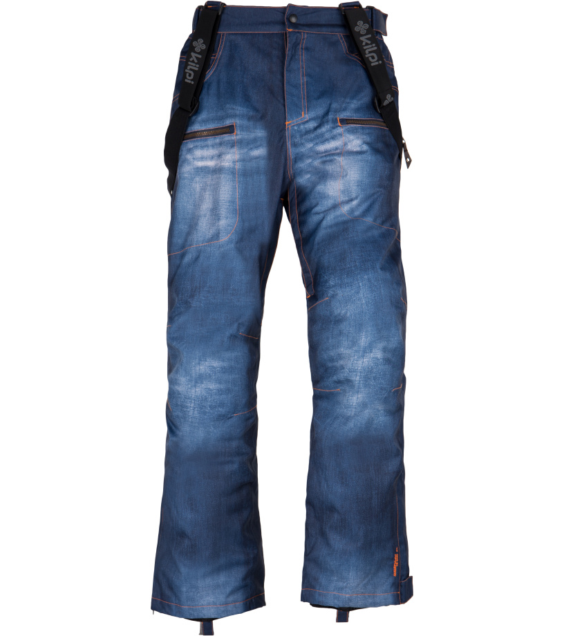 KILPI Pánské snowboardové kalhoty JEANSTER-M FM0028KIBLU Modrá XS