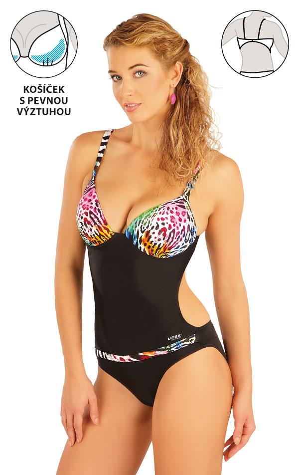 LITEX Jednodílné plavky s košíčky. 93199 38