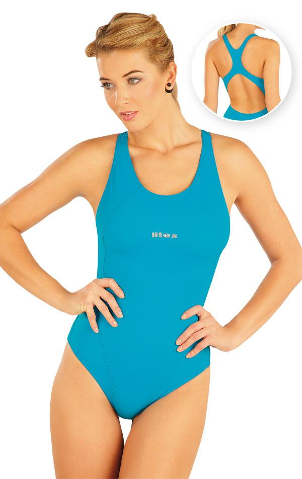Litex jednodilne sportovni plavky 52490 38 levně  ea99d4a598
