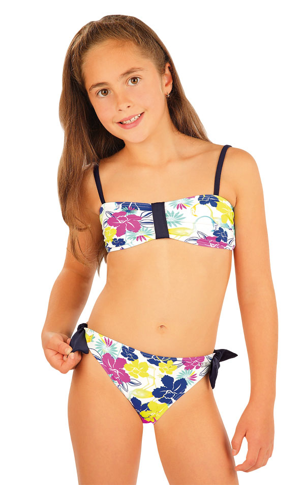 LITEX Dívčí plavky kalhotky bokové. 93543