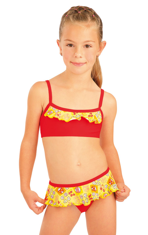 LITEX Dívčí plavky top s volánkem. 93568