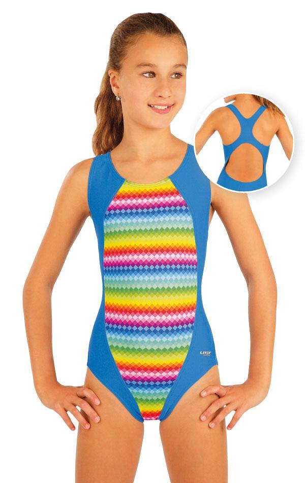 LITEX Dívčí jednodílné sportovní plavky. 93597 140 a8992eacbb