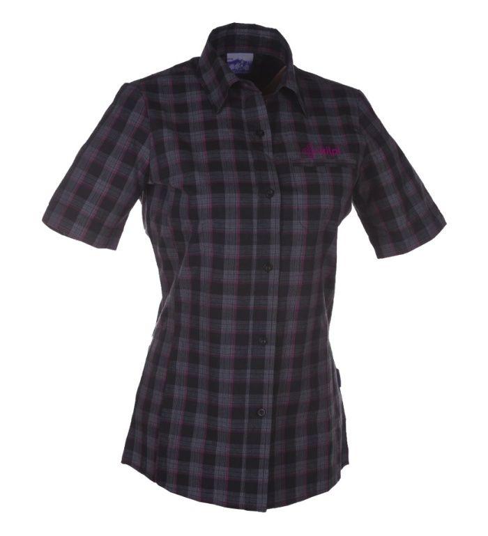 KILPI Dámská košile XIROLA I. AL0047ENBLK Černá 34