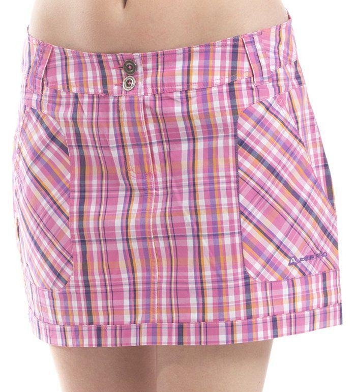 ALPINE PRO DAMAZIO Dámská sukně LSKC007452PA růžová