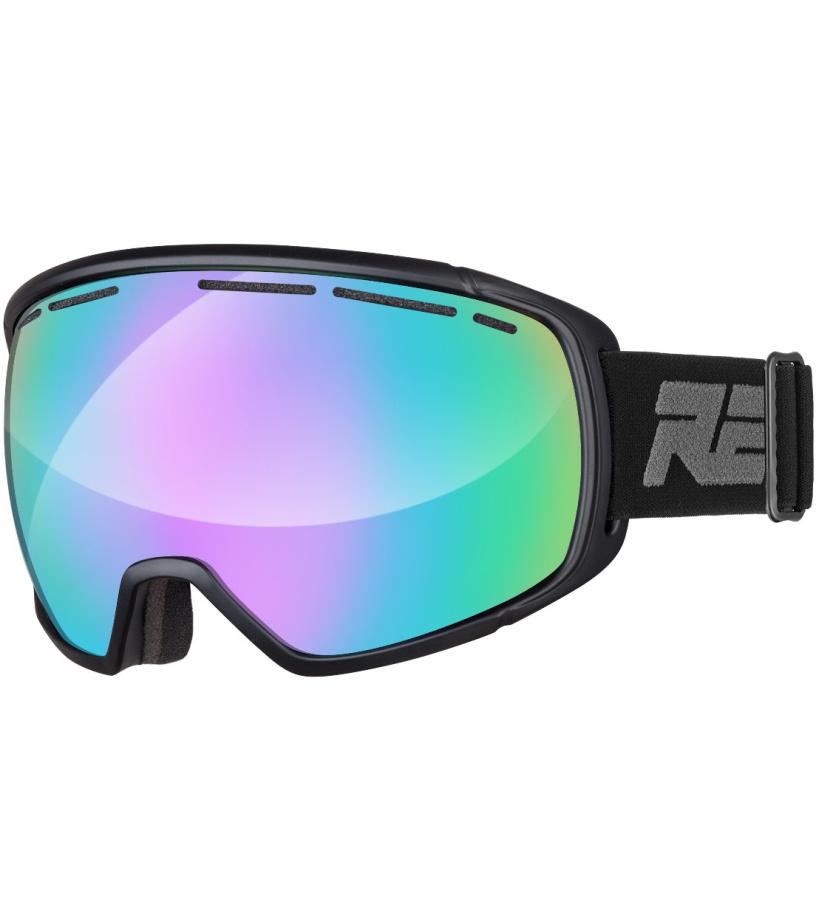 RELAX BEETLE Lyžařské brýle HTG21 černá