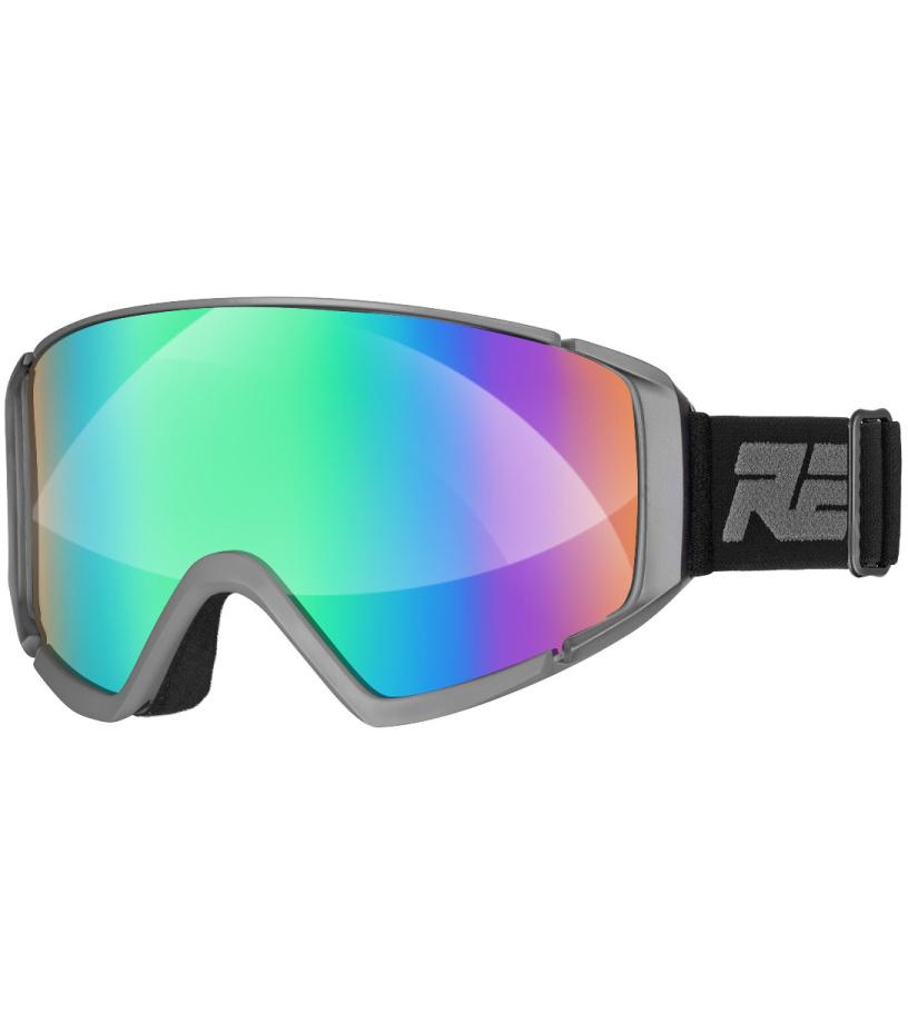 RELAX CRUISER Lyžařské brýle HTG29A světlá šedá