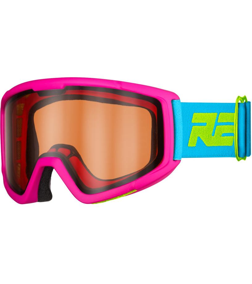 RELAX SLIDER Dětské lyžařské brýle HTG30A růžová XL