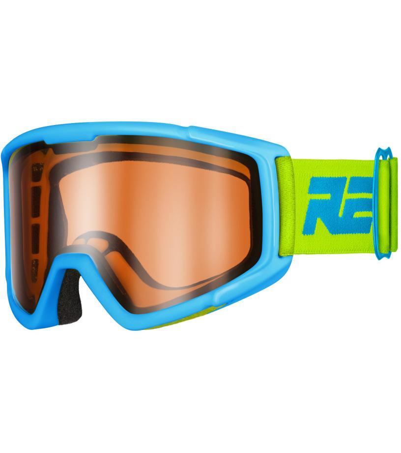 RELAX SLIDER Dětské lyžařské brýle HTG30B modrá XL
