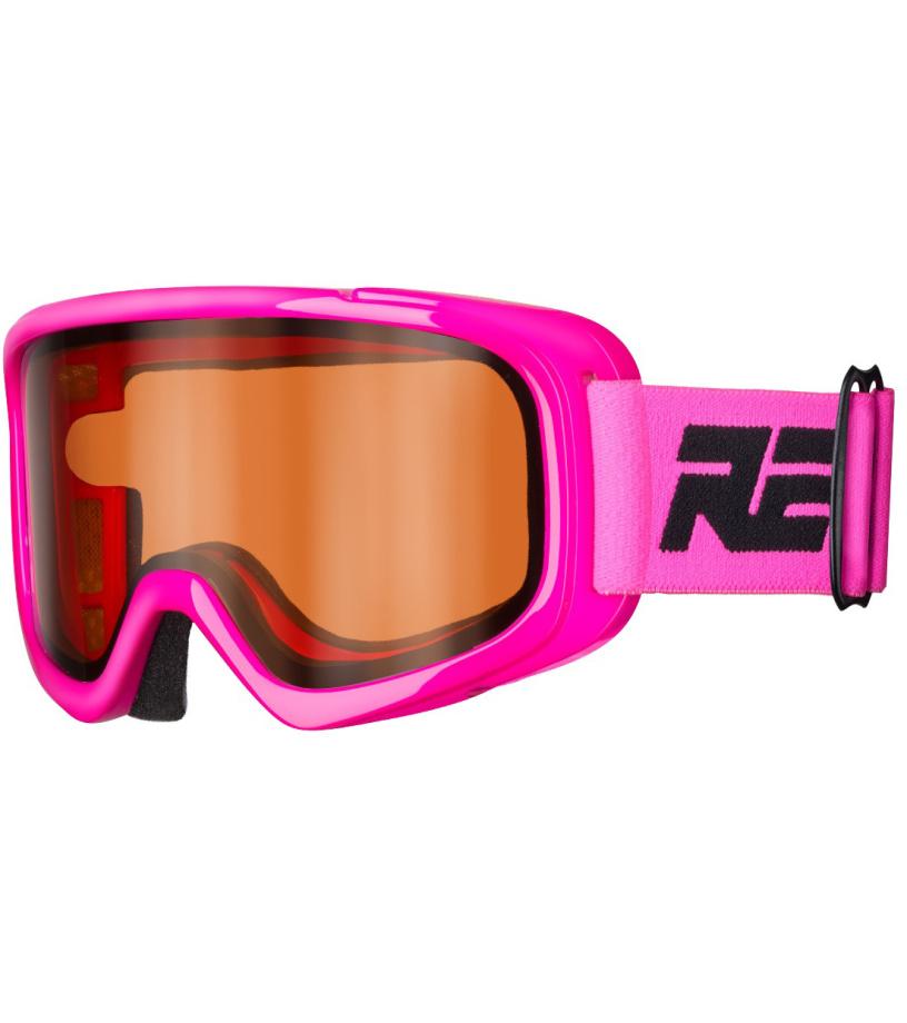 RELAX BUNNY Dětské lyžařské brýle HTG39A růžová
