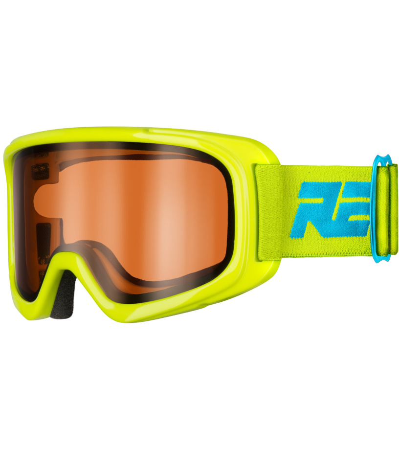 RELAX BUNNY Dětské lyžařské brýle HTG39B žluto modrá XL
