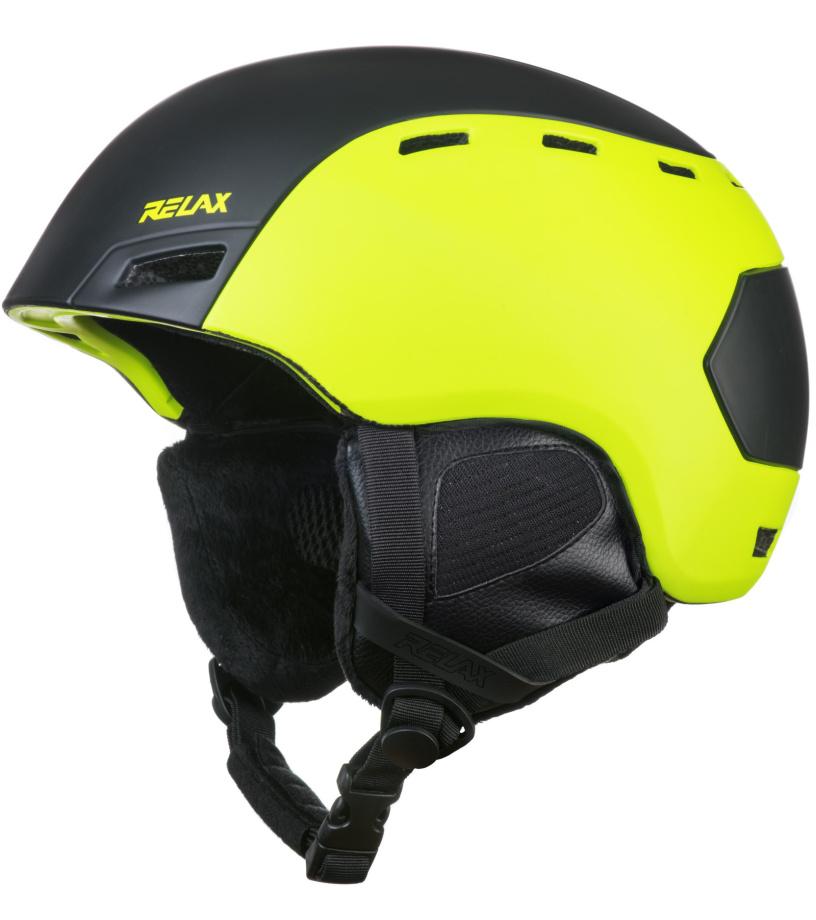 RELAX COMBO Lyžařská helma RH25C černo-žlutá