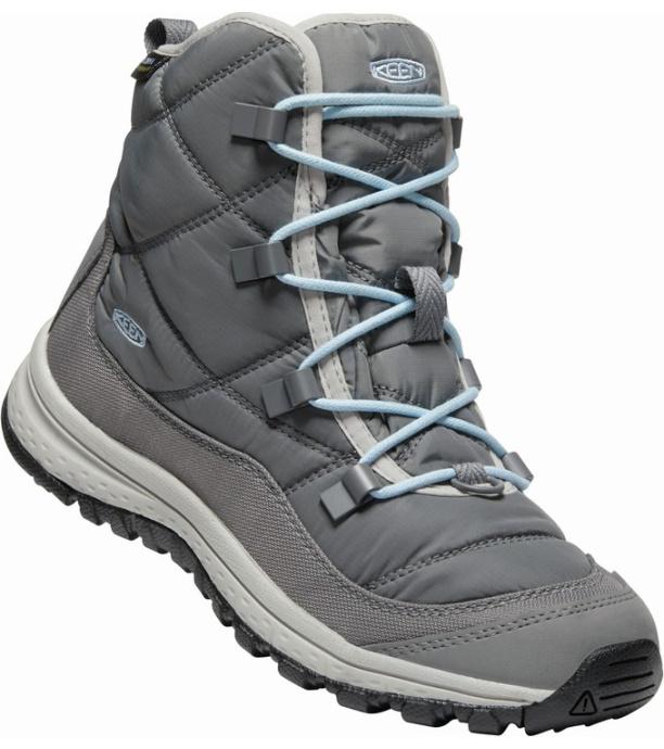 KEEN TERRADORA ANKLE WP W Dámská zimní obuv 10008827KEN01 steel grey/paloma 5(38)