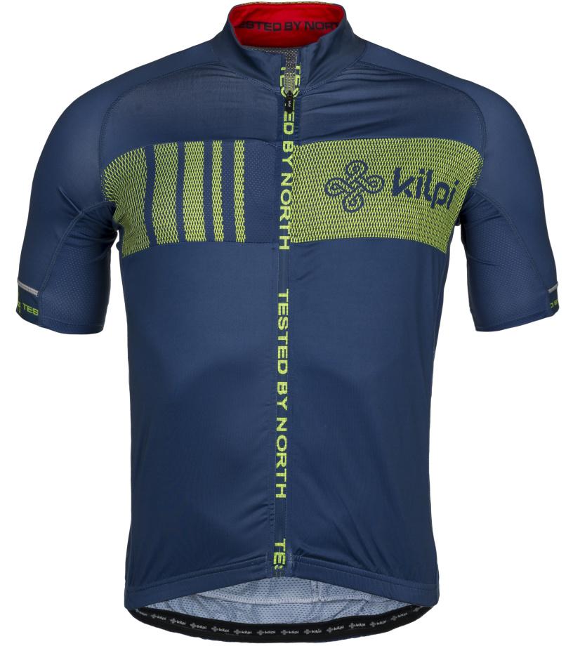 KILPI Pánský cyklistický dres CHASER-M IM0021KIDBL Tmavě modrá