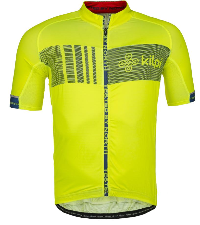 KILPI Pánský cyklistický dres CHASER-M IM0021KIYEL Žlutá