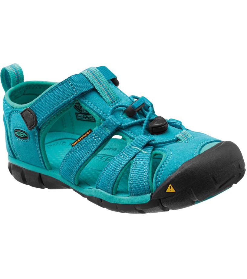 KEEN Seacamp II CNX Jr Dětské sandály KEN1201064011 baltic/caribbean sea 36
