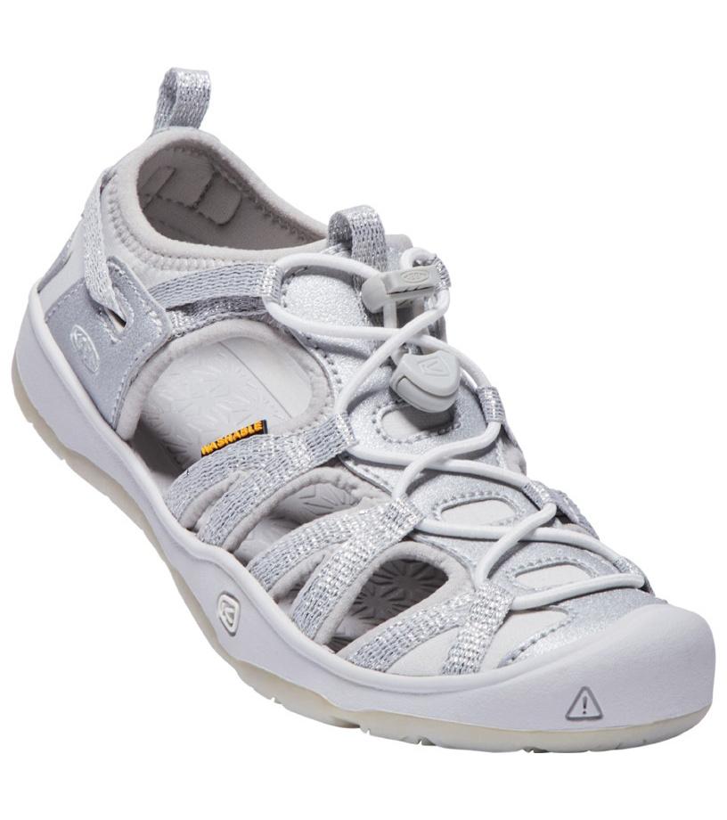 KEEN MOXIE SANDAL JR Dívčí sandály KEN1201127208 silver 2(35)