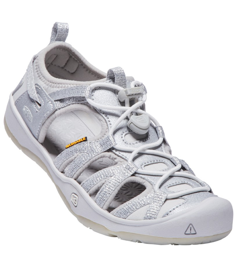 KEEN MOXIE SANDAL JR Dětské sandály KEN1201127208 silver 4(37)
