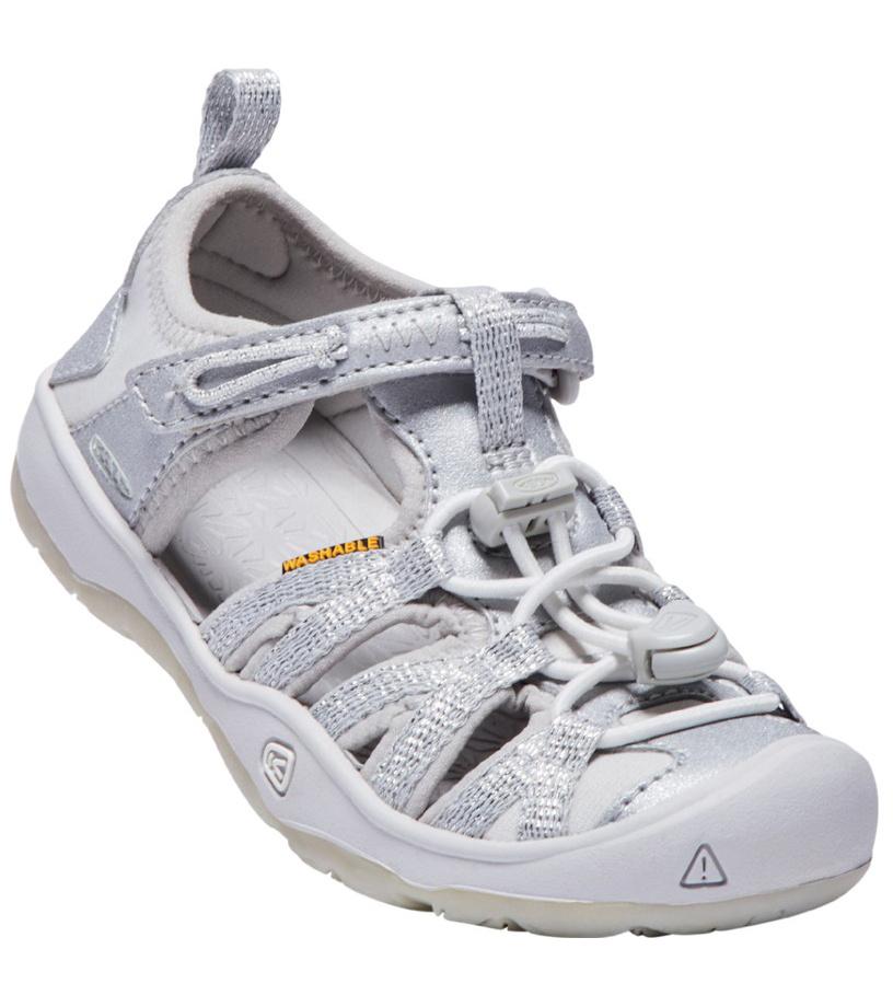 KEEN MOXIE SANDAL K Dívčí sandály KEN1201127308 silver 10(29)