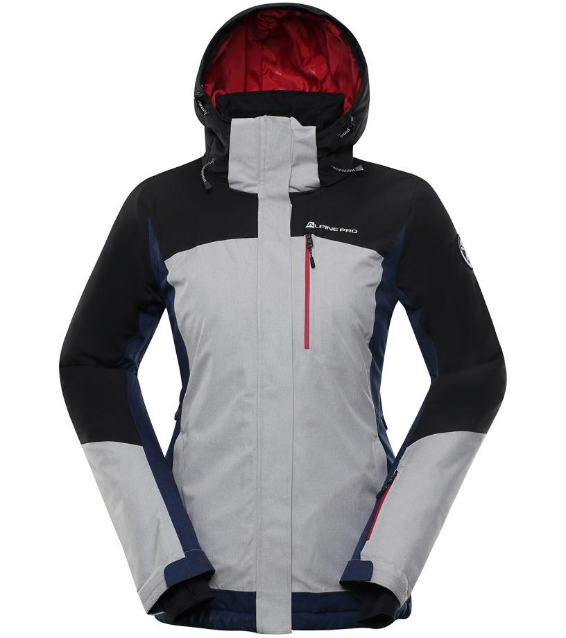 ALPINE PRO SARDARA 3 Dámská lyžařská bunda LJCP352990 černá XL