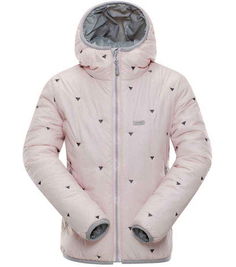 ALPINE PRO SOPHIO 3 Dětská zimní bunda KJCM111413 Potpourri