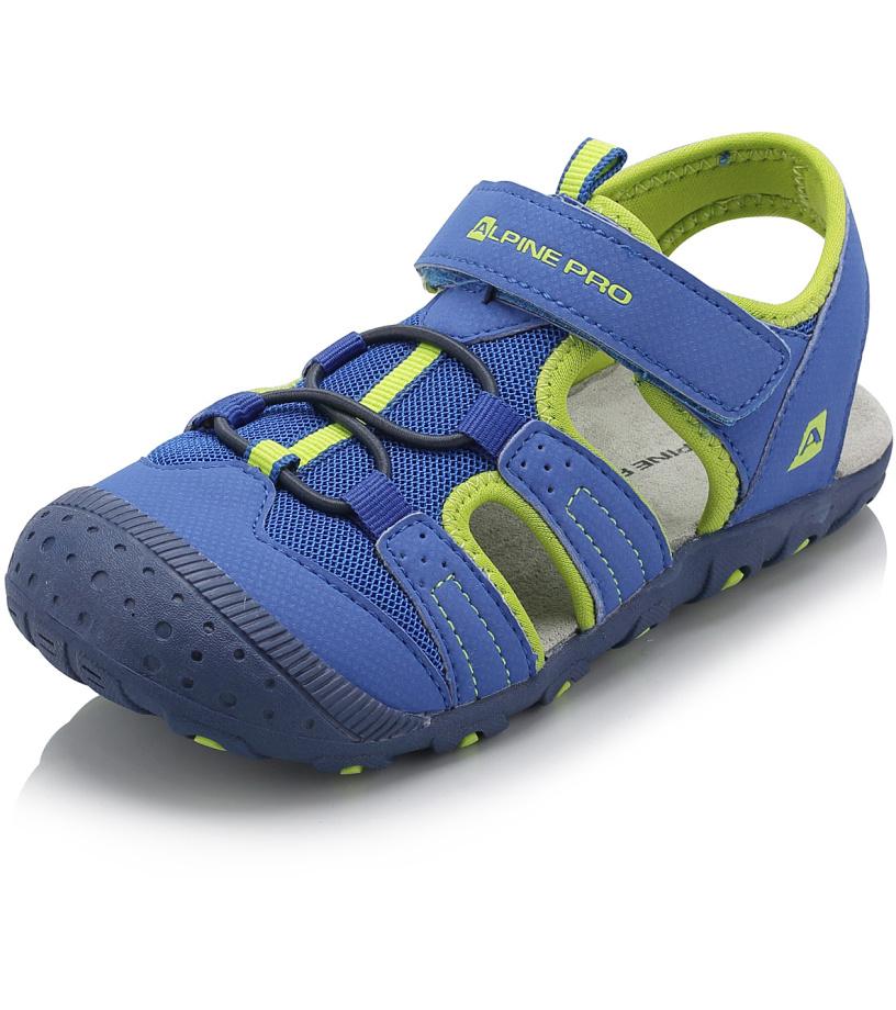 ALPINE PRO PANKAJA Dětské sandály KBTJ141653 cobalt blue 35