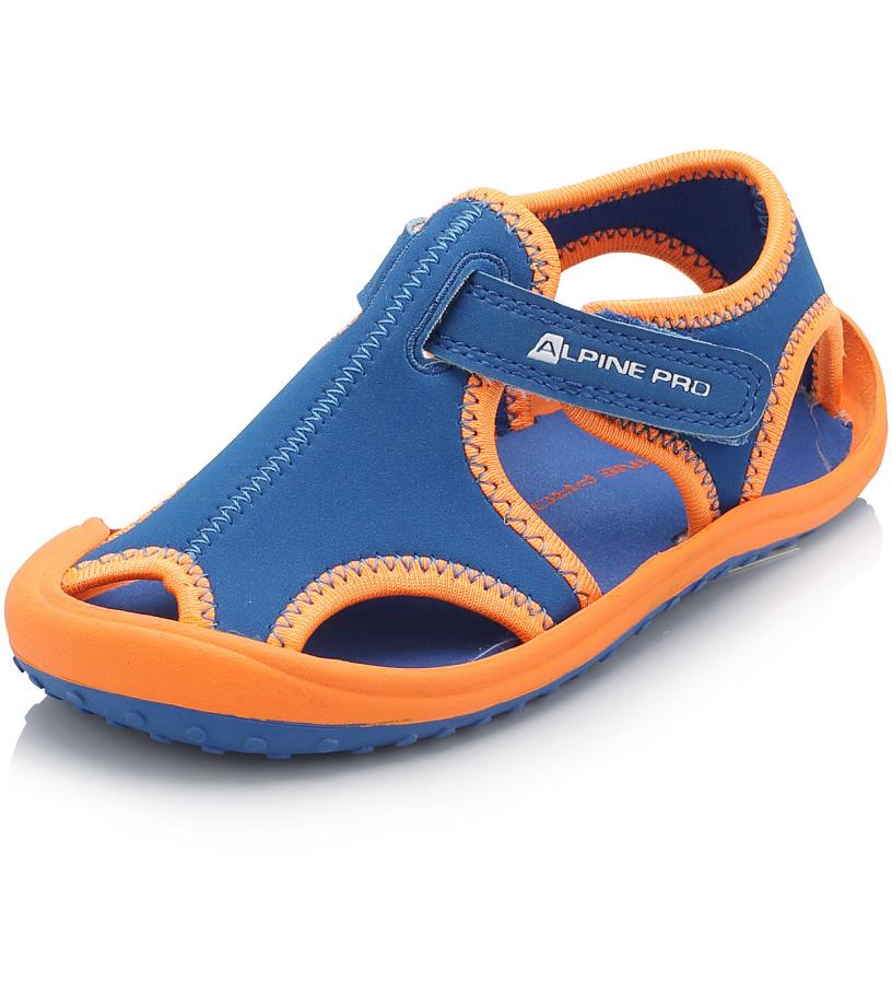 ALPINE PRO PUNITA Dětská obuv letní KBTJ142653 cobalt blue 25