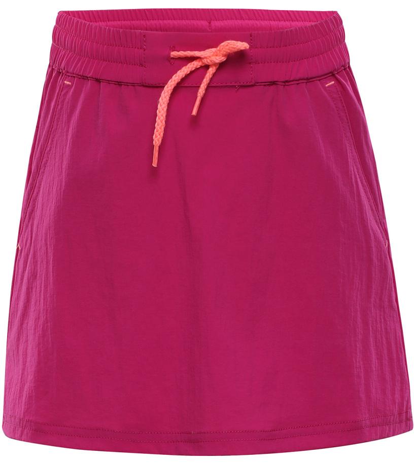 ALPINE PRO IBABO Dětská softshellová sukně KSKJ011412 cabaret