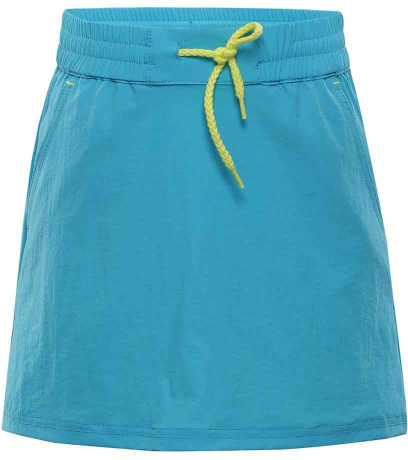 ALPINE PRO IBABO Dětská softshellová sukně KSKJ011622 tyrkysová