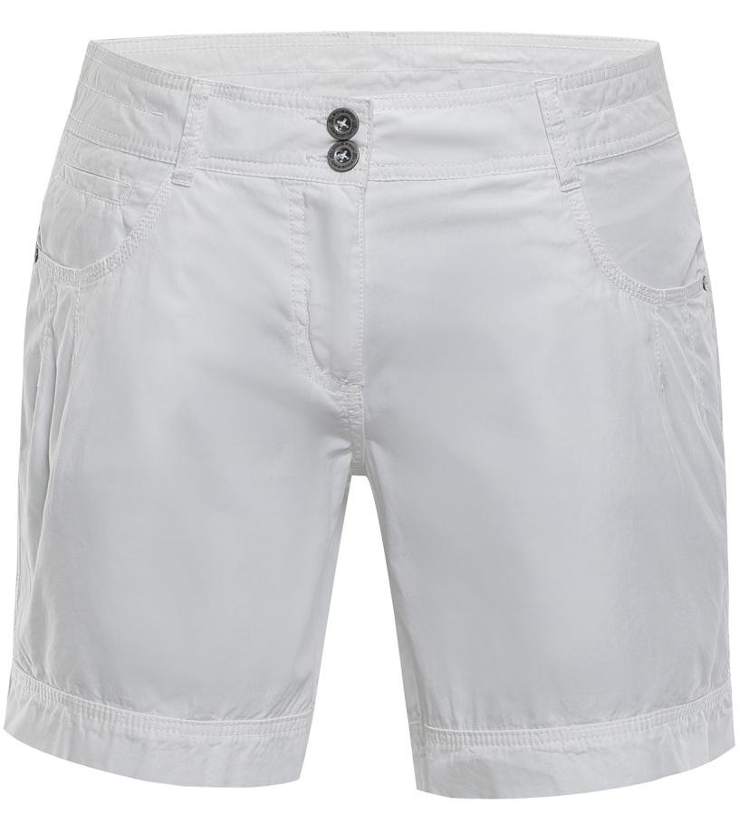 ALPINE PRO BENITICA Dámské šortky LPAJ156000 bílá