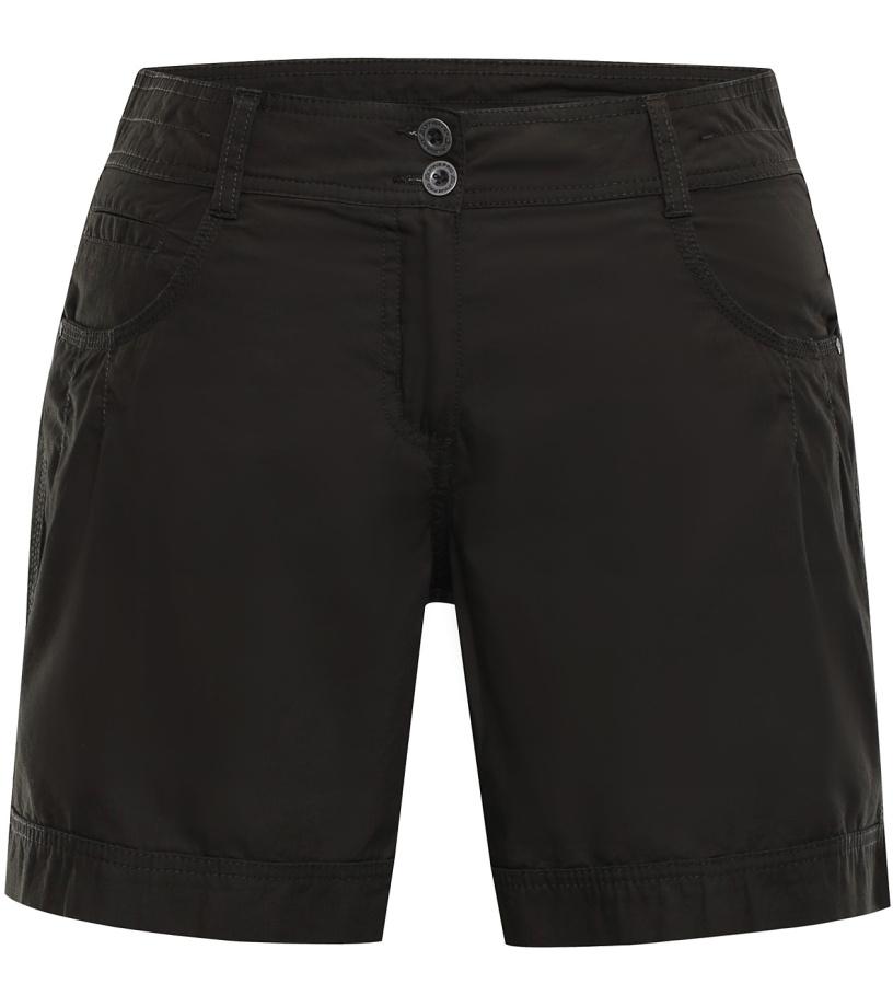 ALPINE PRO BENITICA Dámské šortky LPAJ156986 černá olivová