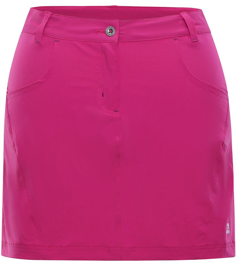 ALPINE PRO DELMA 2 Dámská softshellová sukně LSKJ055412 cabaret