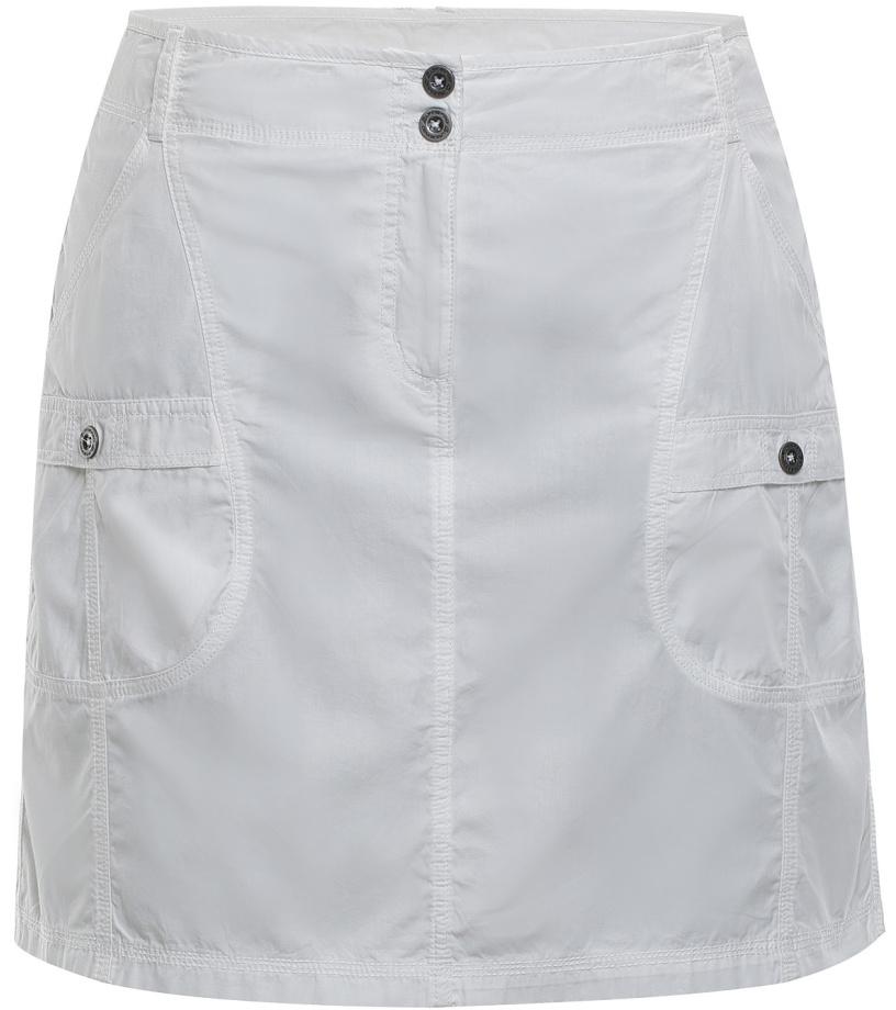 ALPINE PRO WINEMA 2 Dámská sukně LSKJ056000 bílá S